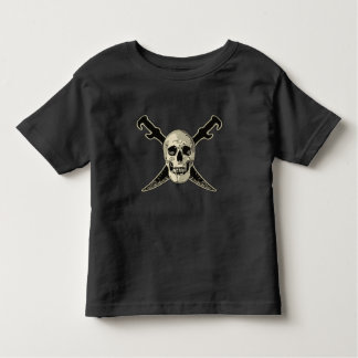 Pirate (Skull) - Toddler Fine Jersey T-Shirt Toddler T-Shirt