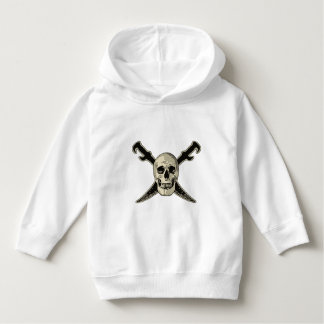 Pirate (Skull) - Toddler Pullover Hoodie