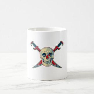 Pirate (Skull) - White 11 oz Classic White Mug