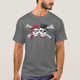 pirate skulls and crossbones T-Shirt