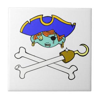 pirate small square tile