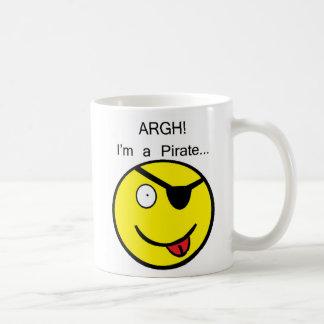 Pirate Smiley Mug