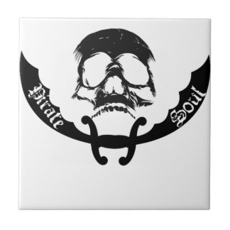 Pirate Soul Items Small Square Tile