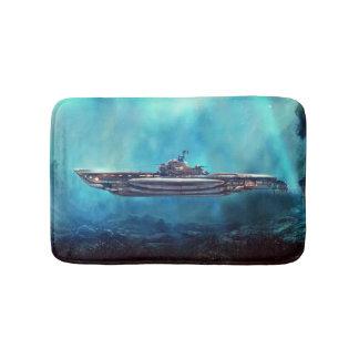 Pirate Submarine Bath Mats