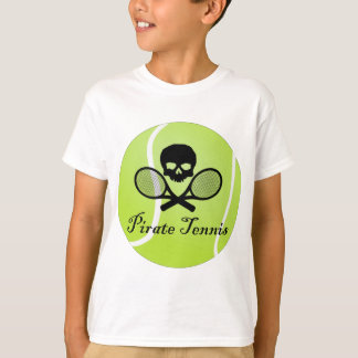 Pirate Tennis w/ Tennis Ball T-Shirt