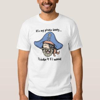 Pirate!  Text! Tee Shirt