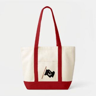 Pirate Thomas Tew Jolly Roger Flag Hoist Tote Bag