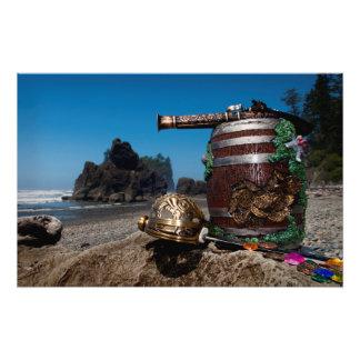 Pirate treasure at Ruby Beach WA Photo Art