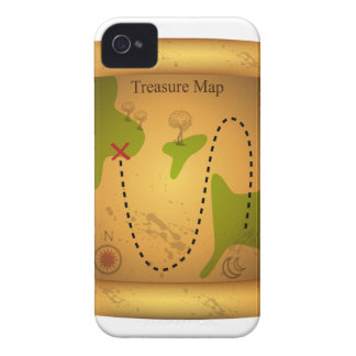 Pirate Treasure Map Case-Mate iPhone 4 Cases