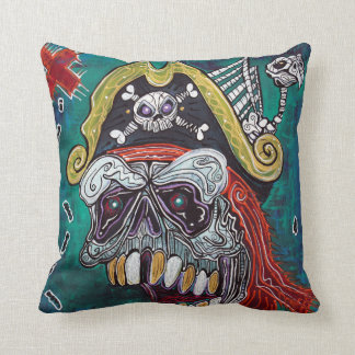 Pirate Treasure Map Pillow