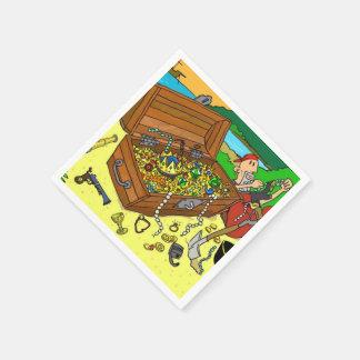 Pirate Treasure Paper Napkins 50/pack