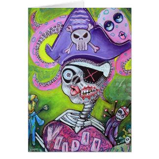 Pirate Voodoo Card
