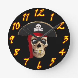 Pirate Wall Clock Style 2