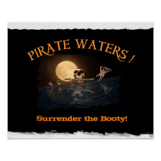 Pirate Waters.... Poster