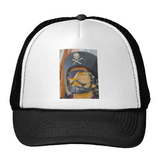 Pirate with Beard and Eye Patch Hat