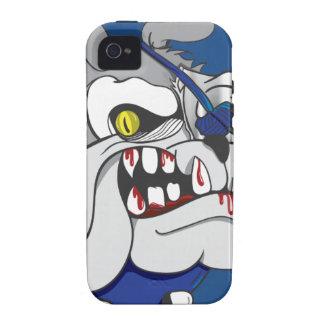Pirate Zombie Bulldog iphone4 Case iPhone 4 Case