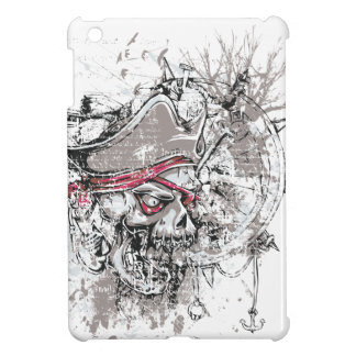 pirated dead skull vintage design iPad mini cases