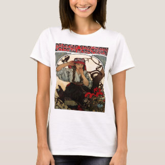 PirateGirlFrenchVintage T-Shirt