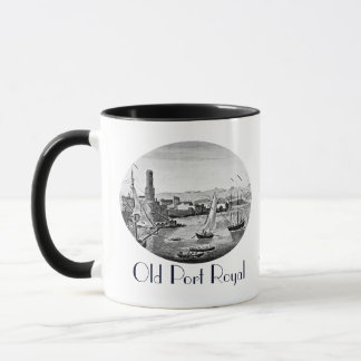 Pirates 1906 Vintage Old Port Royal Jamaica Mug