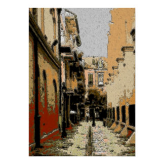 Pirates Alley French Quarter Poster