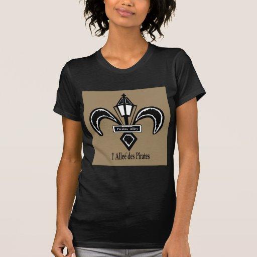 Pirate's Alley Lamppost Fleur de Lis T-shirts