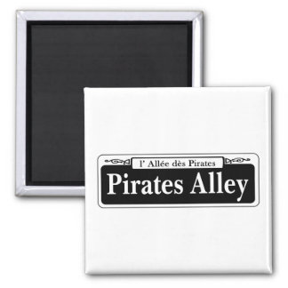 Pirates Alley, New Orleans Street Sign Magnet