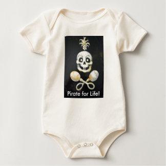 pirates baby bodysuit
