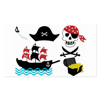 Pirates Pack Of Standard Business Cards