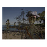 Pirates Curse Postcard