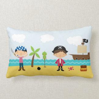 Pirates Cute Boy Throw Pillow
