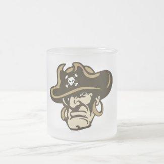 Pirates frosted mug