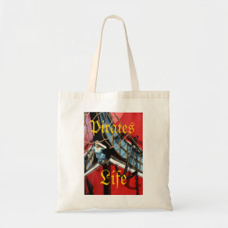 Pirates Life Budget Tote Bag