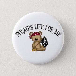 Pirates Life For Me 6 Cm Round Badge