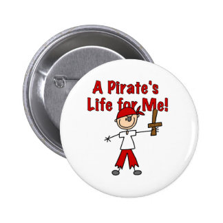 Pirate's Life for Me 6 Cm Round Badge
