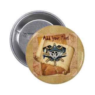 Pirates Life For Me Button