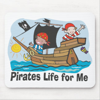 Pirates Life for Me Mouse Pad