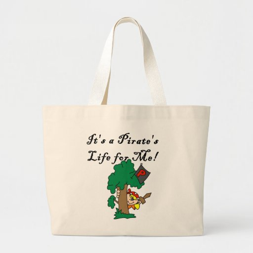 Pirate's Life Tshirts and Gifts Canvas Bag