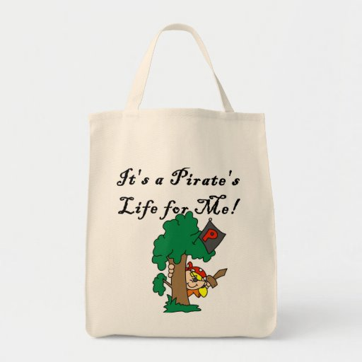 Pirate's Life Tshirts and Gifts Canvas Bags