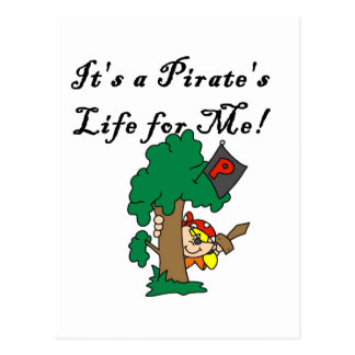 Pirate's Life Tshirts and Gifts Post Card