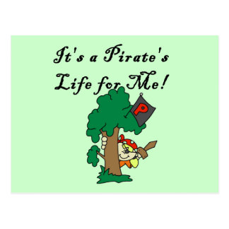 Pirate's Life Tshirts and Gifts Postcard