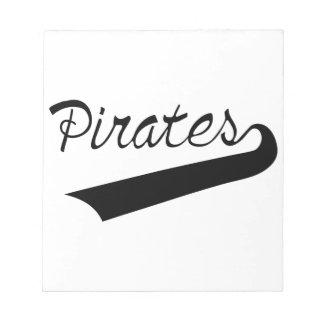 Pirates Notepad