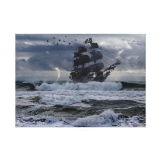 Pirates Of New England Canvas Print