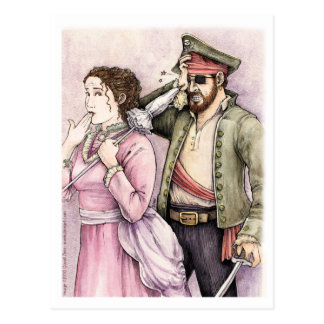 Pirates of Penzance postcard