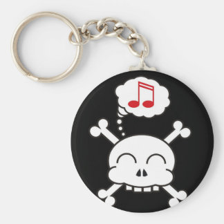 pirates R happy Key Ring