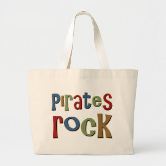 Pirates Rock Canvas Bags
