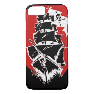 Pirates Ship and Flag iPhone 7 case