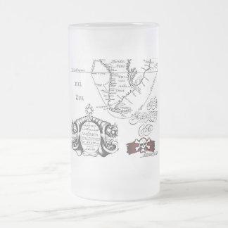 Pirates Treasure Map Mug