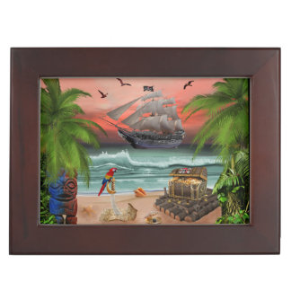 PIRATES TREASURE QUEST KEEPSAKE BOX