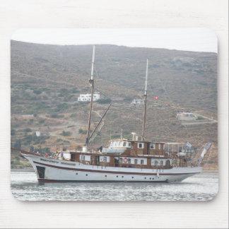 piratic ship mouse pad