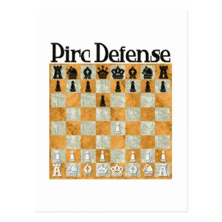 Pirc Defense Postcard